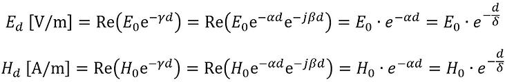 electromagnetic field attenuation