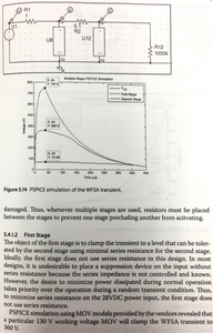 Multi-stage lightning protection of a DC power line [Handbook of Aerospace Electromagnetic Compatibility, Reinaldo J.Perez]