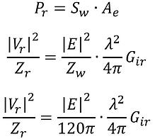 antenna factor vs. antenna gain