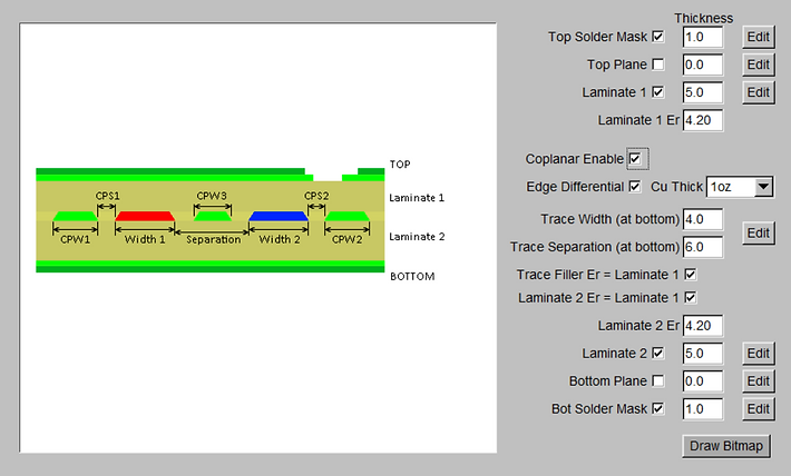open source transmission line impedance calculator