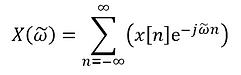 Discrete-Time Fourier Transform (DTFT)