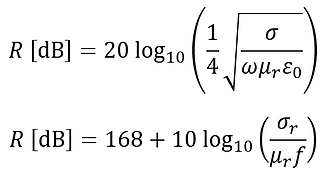 reflection loss formula