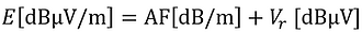 electric field strength formula