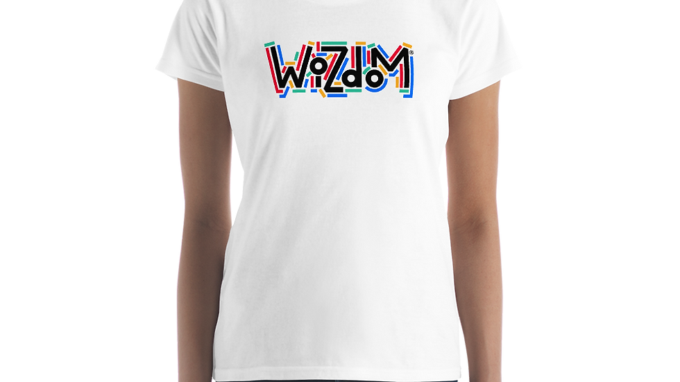 Wizdom Women's Tee White