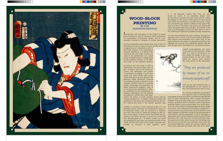 Historical Magazine Article Spread