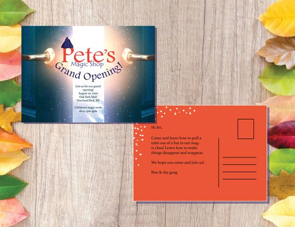 Pete's Magic Shop