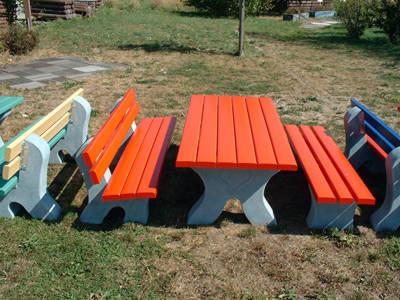 REKU Kinder-Sitzgruppe farbig