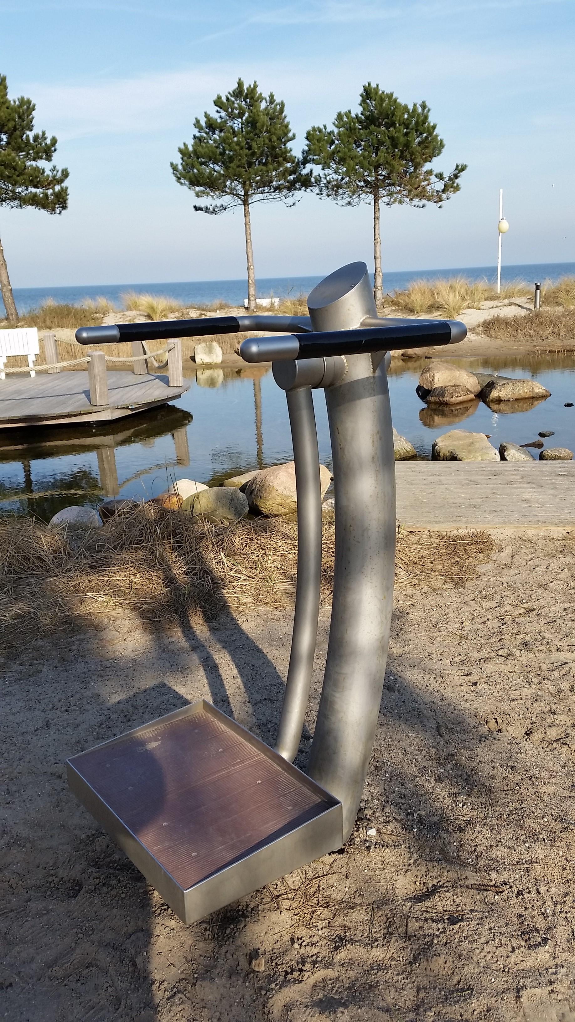 REKU Outdoor-Fitness Edelstahl (2)