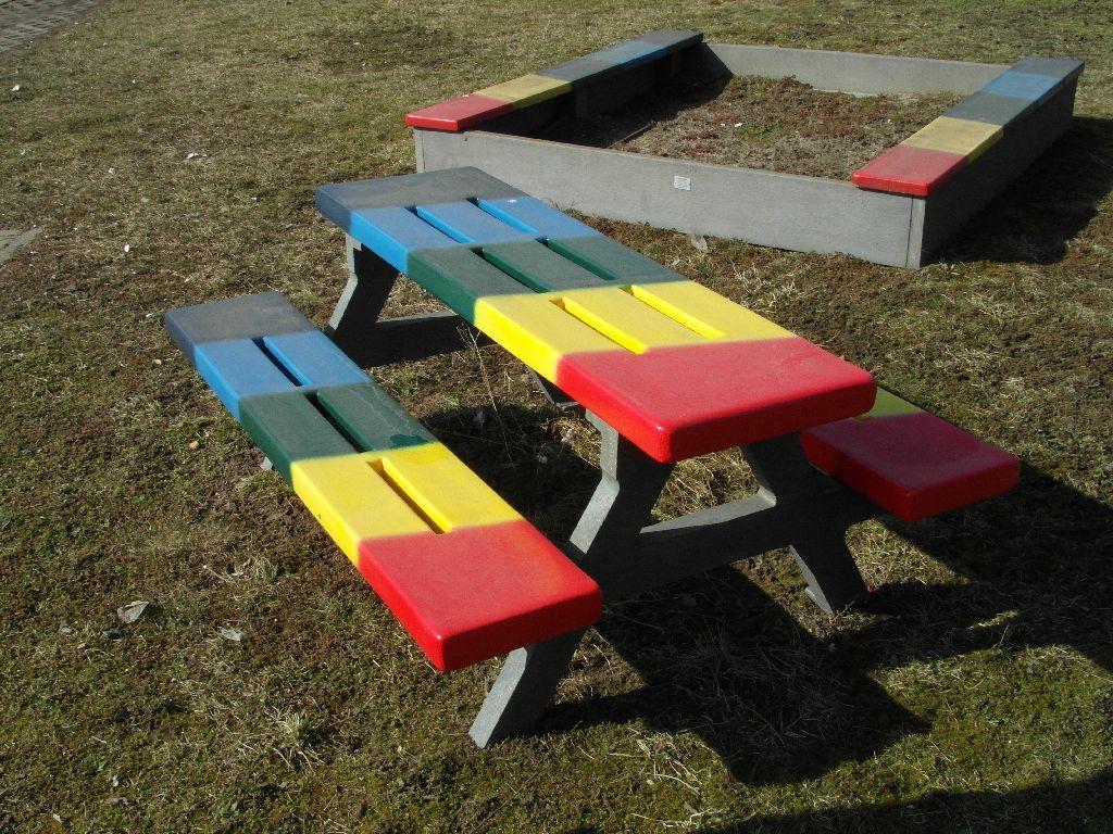 REKU Kinder-Tischbank WKOO 150 bunt