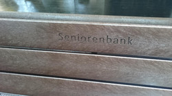 REKU Parkbank HX Gravur