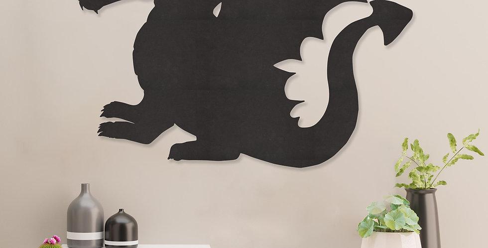 Draak silhouette