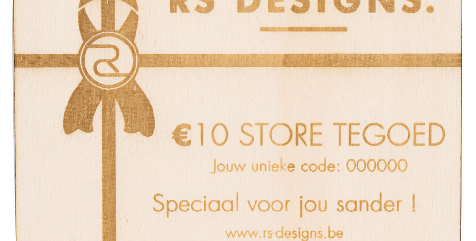 RS Designs Gift card