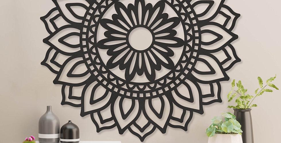 Mandala zonnebloem