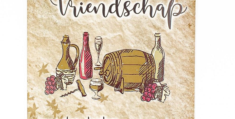 Wijn & vriendschap 30x42
