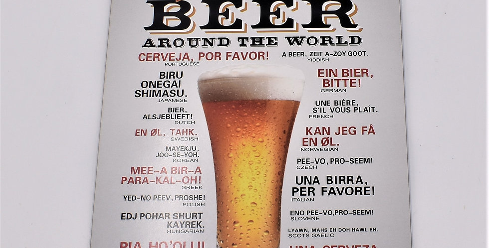 How to order a beer around the world ,  15.50x23cm