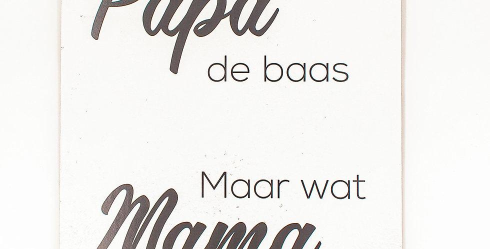 Papa & Mama 30x42