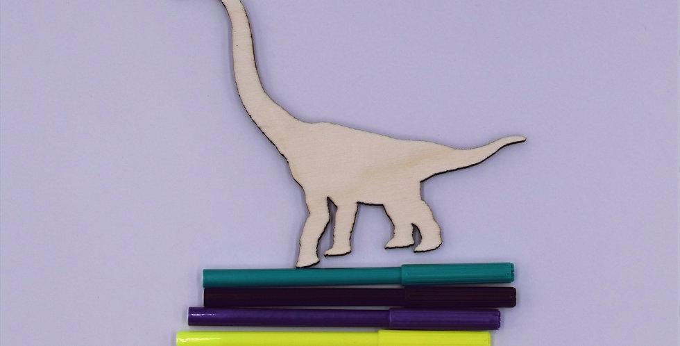 Dino4 gelaserd  + 4 random stiften