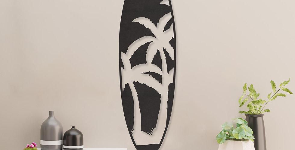 Surfbord palmbomen