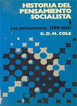Cole, G.D.H. - Historia del Pensamiento