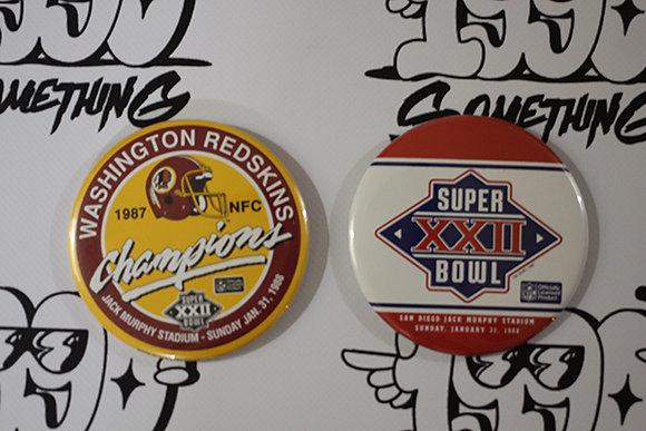 1987 NFC Redskins Super Bowl Pins