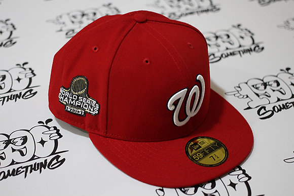 New Era Nationals 2019 World Series Champions Fitted