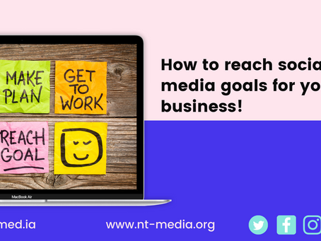 How to reach your social media goals for your business!