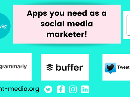 5 apps you need as a social media marketer!