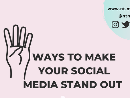 4 Ways To Make Your Social Media Stand Out