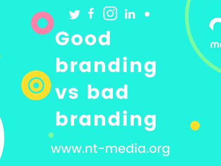 Good branding vs bad branding