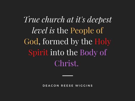 Pentecost 2020 Sermon The Body of Christ is Us