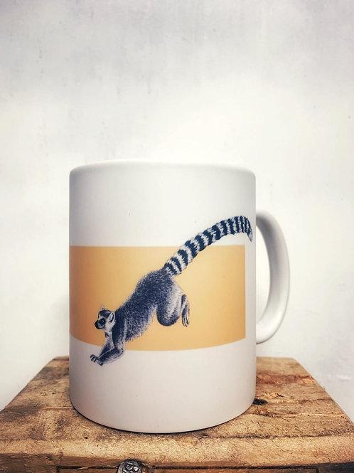 """Keramik Tasse """"Lemuren"""" 300ml - Atelier Vaya"""