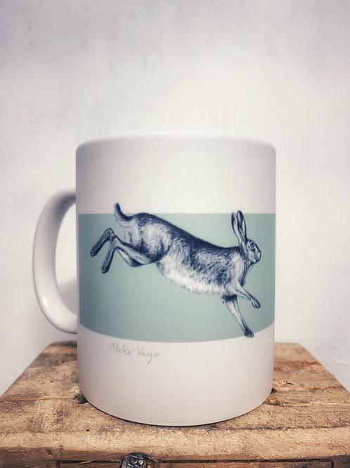"Keramik Tasse ""Hasen"" 300ml - Atelier Vaya"