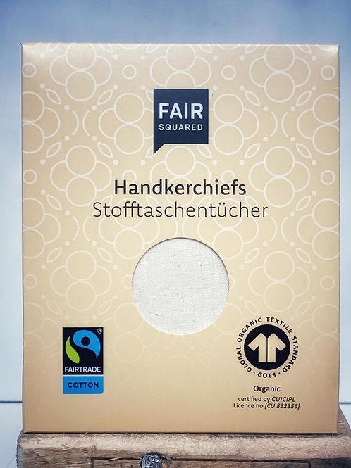 Stofftaschentücher aus Bio-Baumwolle - Fair Squared