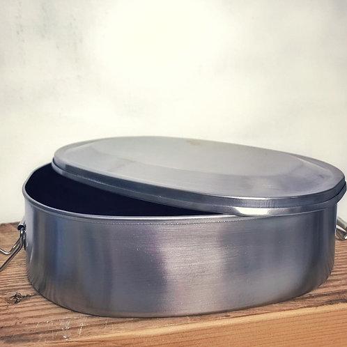 Lunchbox aus Aluminium 1,1L