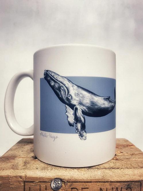"Keramik Tasse ""Wale"" 300ml - Atelier Vaya"