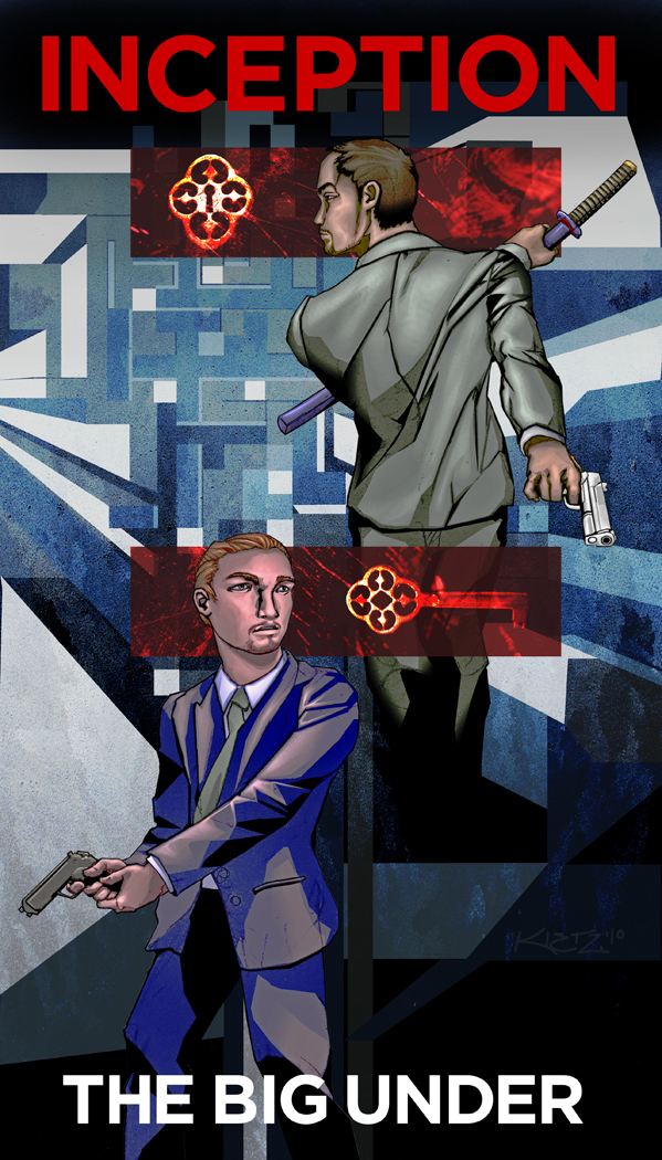 Inception Comic Cover