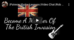The British Invasion Rob Garland Guitar Lessons