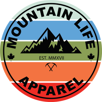 Mountain Life Apparel- Colour Version of their existing Logo