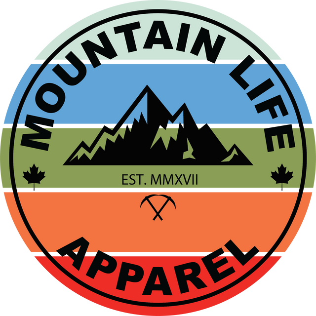 Mountain Life Apparel- Colour Version of their existing Logo