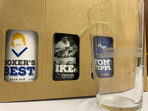 2020 - Limited edition 4 Beers and Town pint glass Gift set