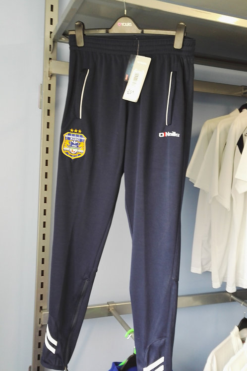 Larch Navy Skinny Tracksuit Pants - Adult