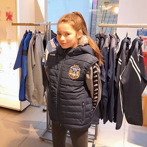 Junior Hooded Gilet with zipped pockets!