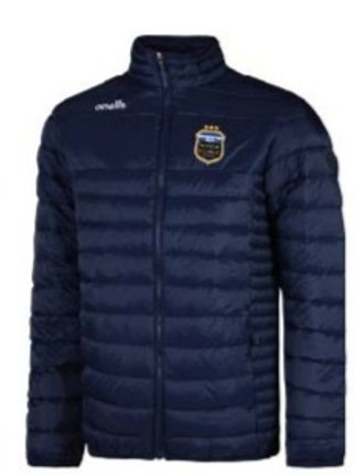 2021 Town Navy Quilted Padded Jacket