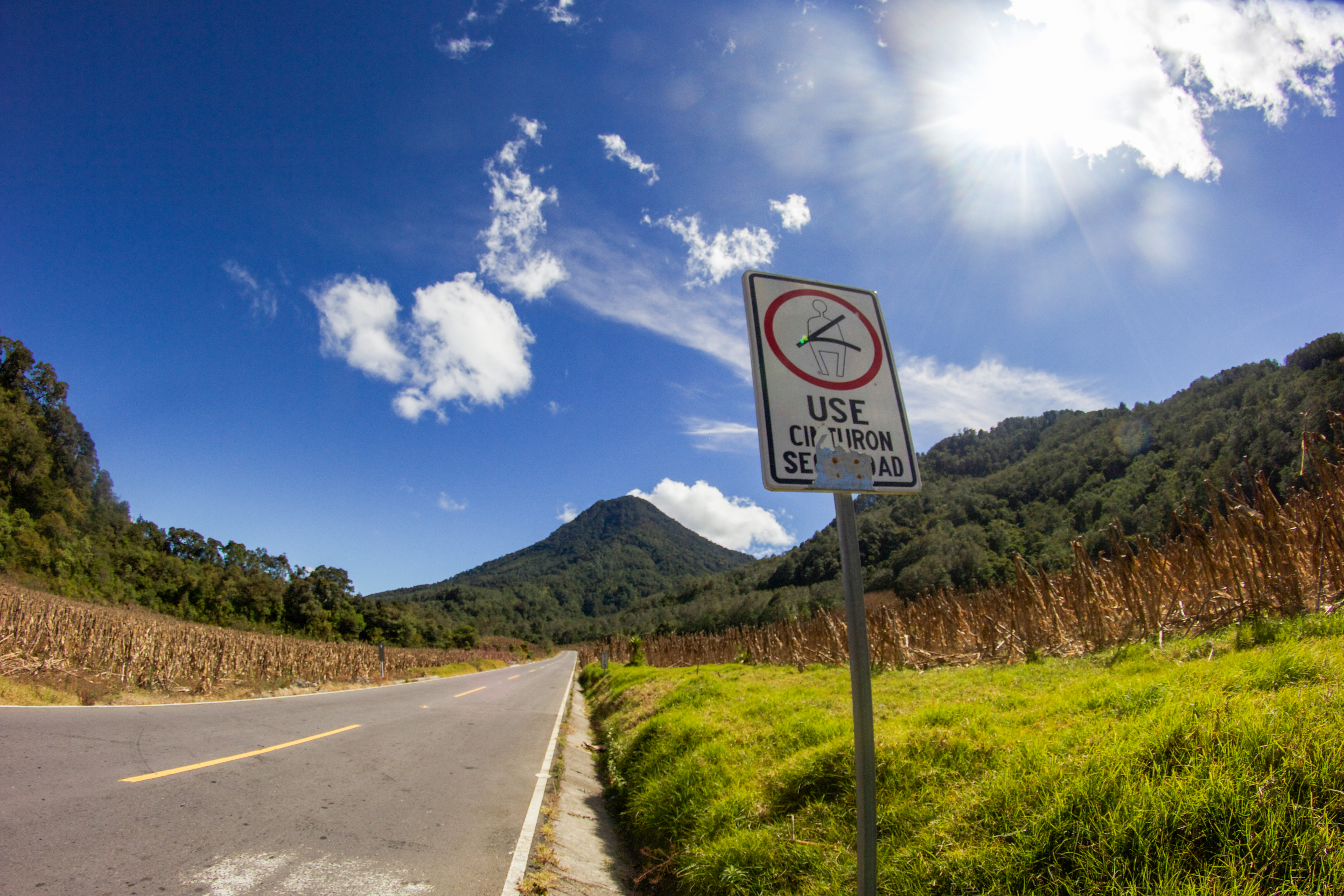 Road to Santiago Atitlan