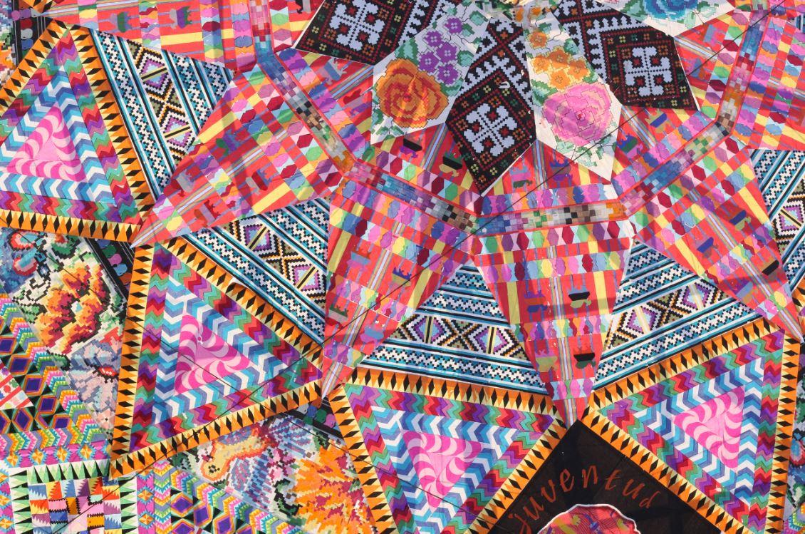 Kites from Santiago Sacatepequez