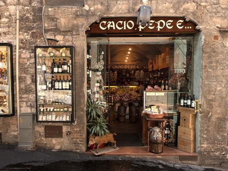 Cacio, Pepe, E..., Assisi