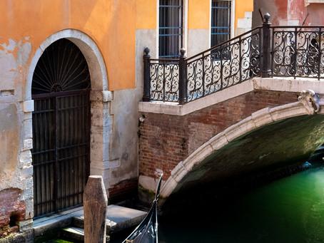 Docked Gondola, Venice
