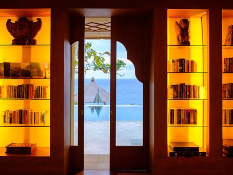Library at Amankila, Bali