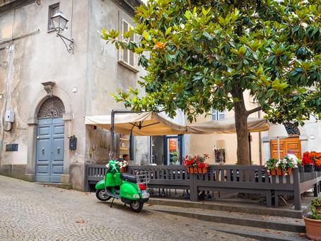 Green Bike in Orvieto