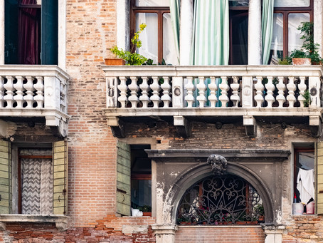 Details from the Gondola Ride, Venice